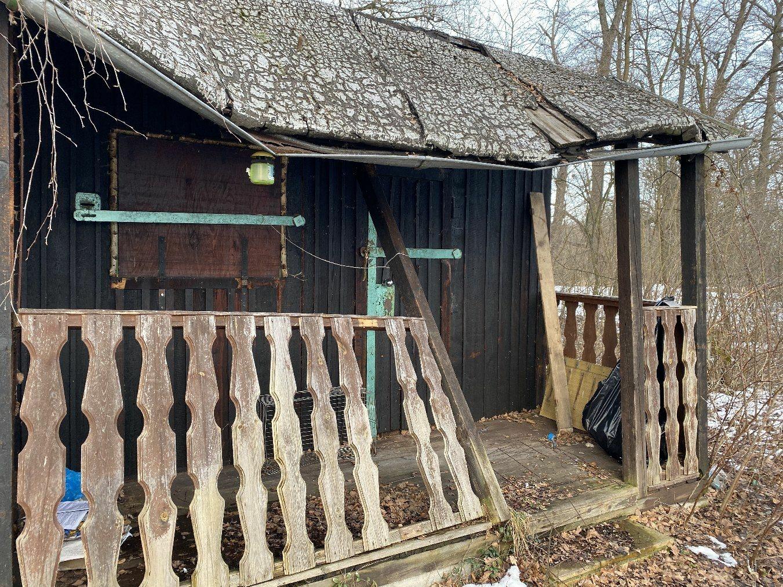 Chata na cizím pozemku