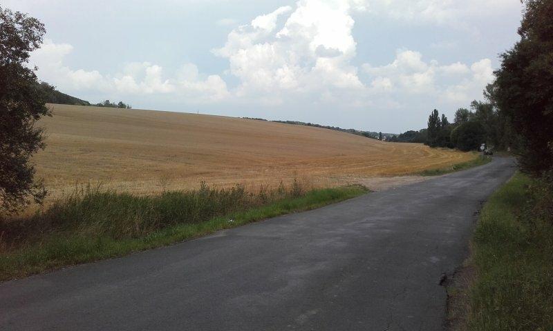 ideální podíl 5/12 - orná půda,  k.ú. Brandýsek a