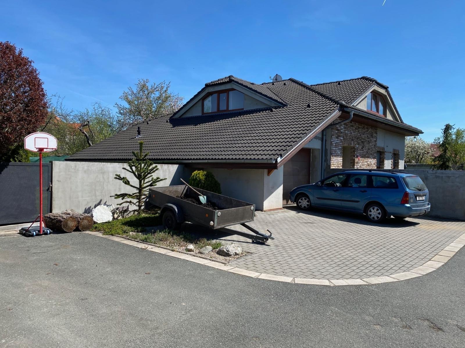 Stavba rodinného domu v části obce Svítkov na