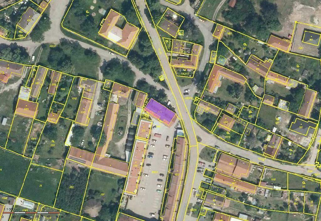 Parkovací stání v domě, Břežany II, okres Kolín