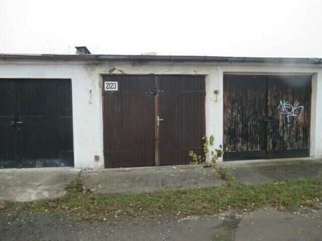 podíl ½ garáže v Jirkově, okres Chomutov