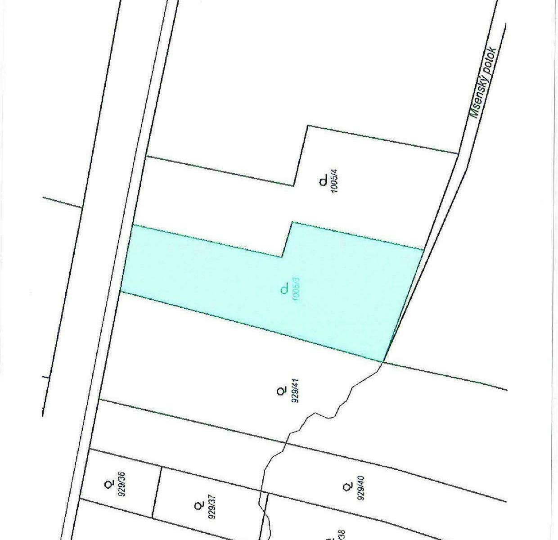 pozemek v k.ú. Černochov, část obce Peruc, okres