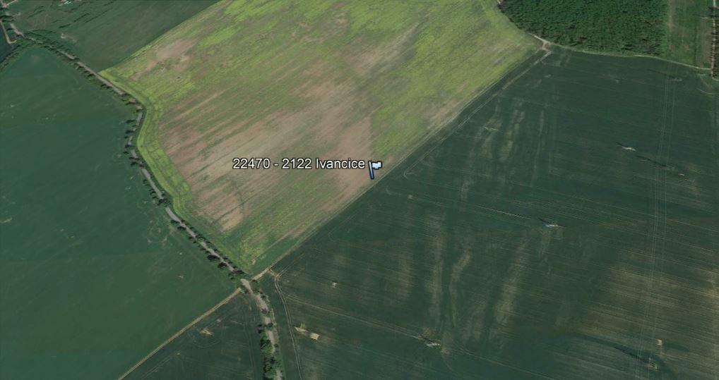 Podíl 1/2 - orná půda kat.území - Ivančice