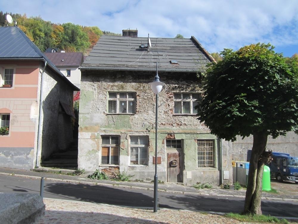 Rodinný dům v obci Jáchymov