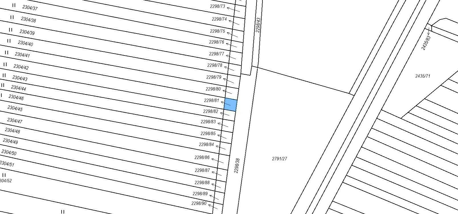 Pozemek o velikosti 3047 m2, Svatobořice