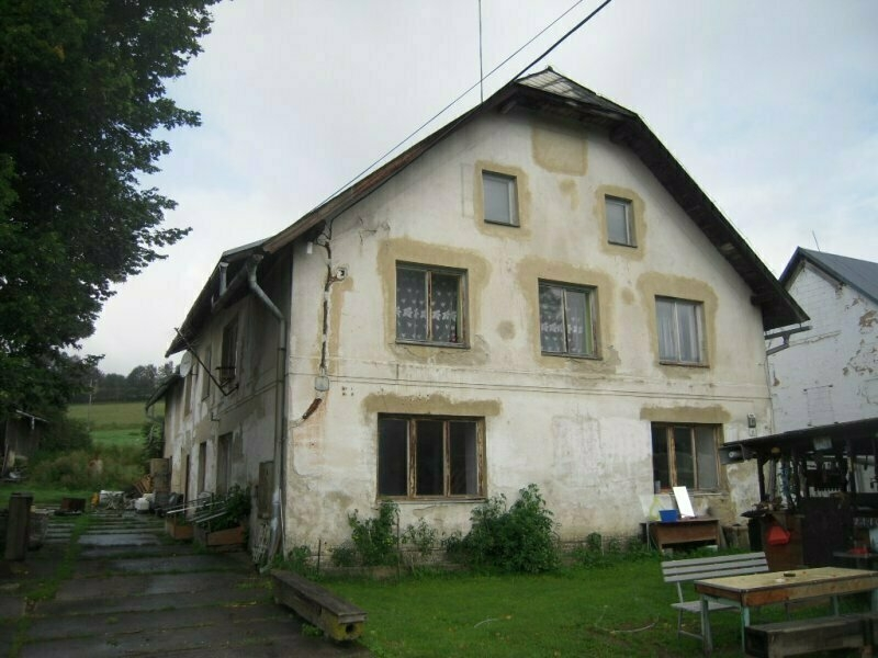 Podíl 1/2 byt v obci Hanušovice, okr. Šumperk