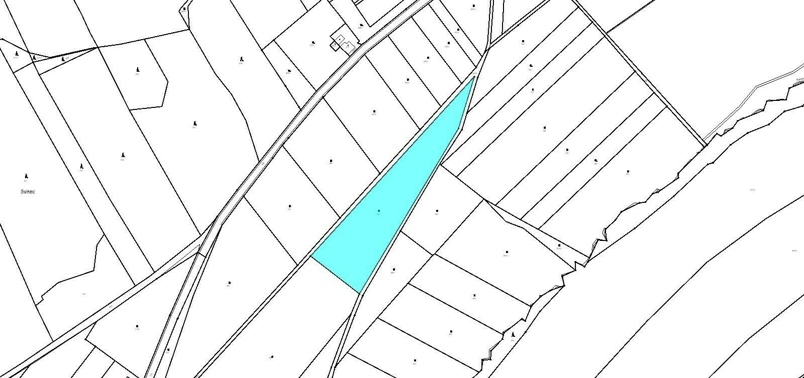 Pozemek o velikosti 9679,00 m2, Nový Jičín-Horní