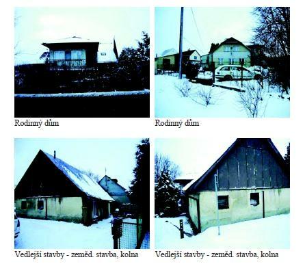 Podíl 1/4 rodinného domu v obci Bor, okres Tachov